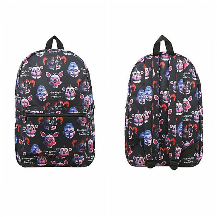 Five Nights At Freddy S Sister Location Print Backpack