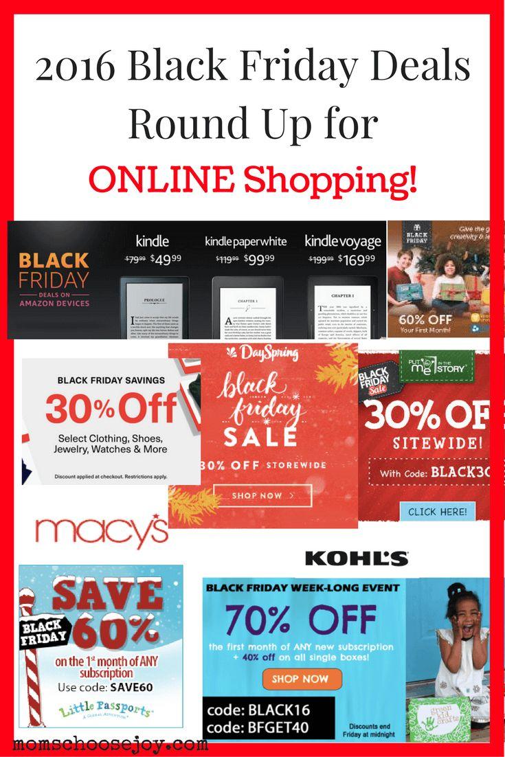 Online black friday shopping