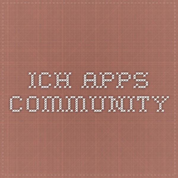 ICH Apps Community
