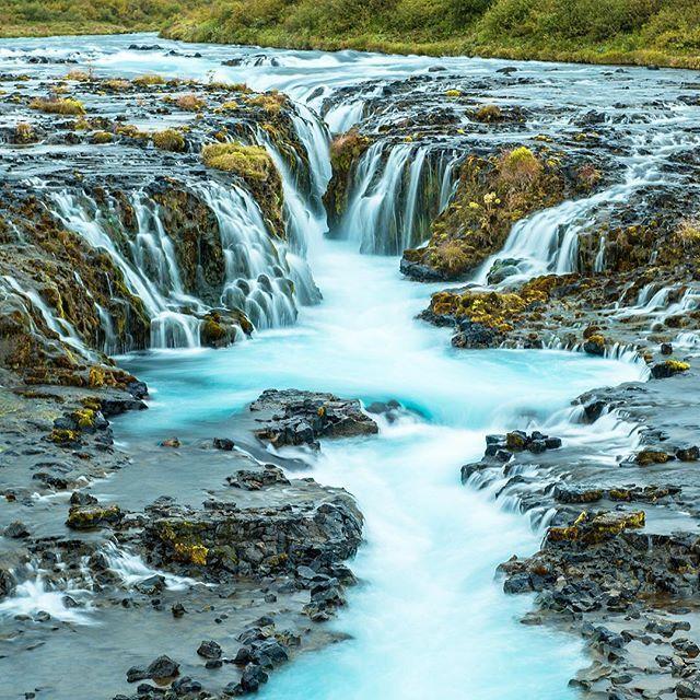 Nu är vi igång, första vattenfallet på Island avklarat! 💦 #iceland #bruarfoss #d800 #2470