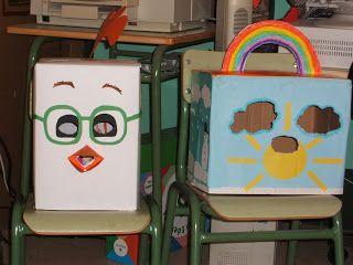 Escuela infantil castillo de Blanca: GIGANTES Y CABEZUDOS