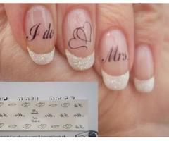 I like the sparkly on the french manicured nail tips! (no words).                                                                                                                                                                                 More
