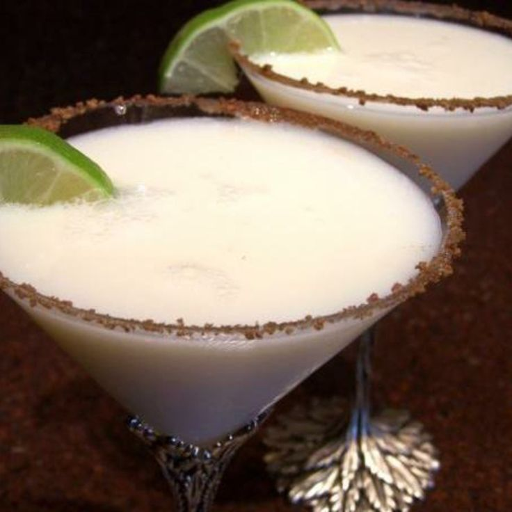 Kickin' Key Lime Pie Martini