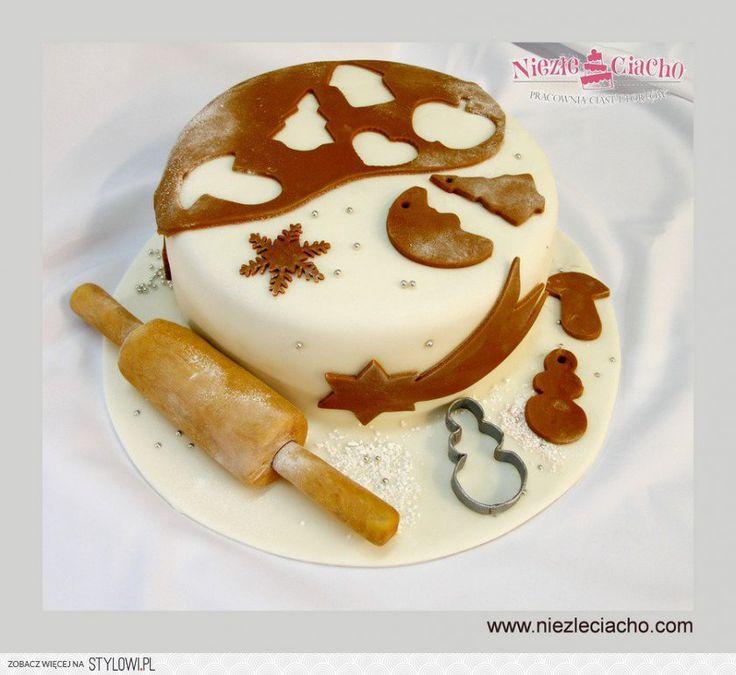Stolnica, wałek, ciasteczka na święta, ciastka na choinkę, tort z akcentem świątecznym, Boże Narodzenie, Tarnów