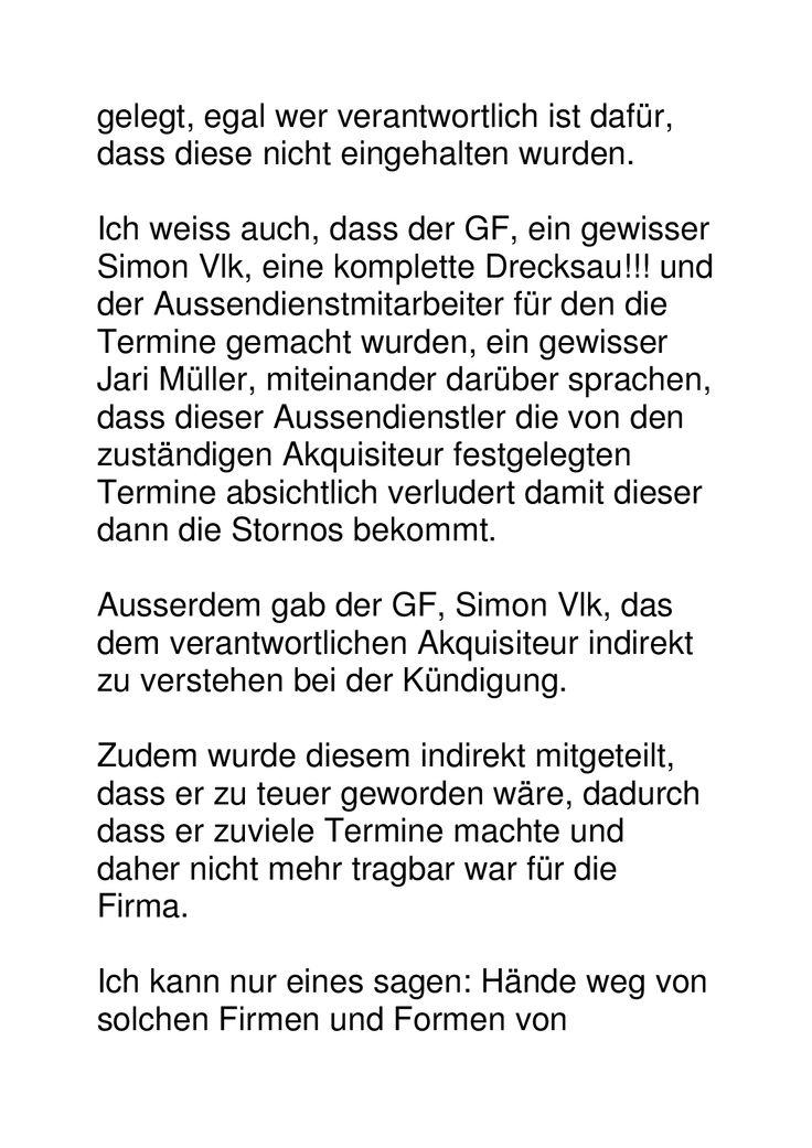 webagentur.ch Stieger & Vlk, Bahnstr. 1, Uster: Kompletter Gauner- und Dreckladen!!! Akt 2