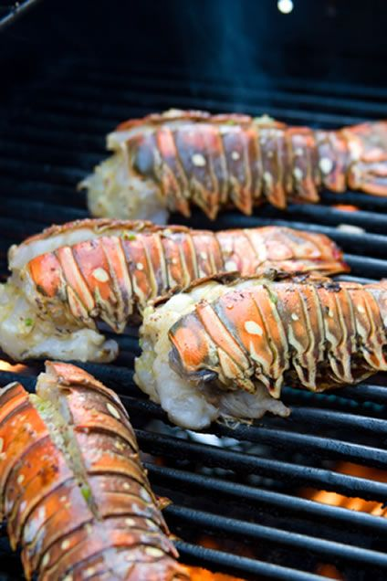 Grilling Lobster Tails