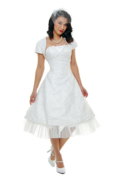 17 best images about dresses on pinterest day dresses for Pin up inspired wedding dresses