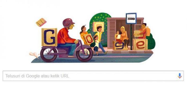 Google Pasang Doodle Musim Mudik Khas Indonesia