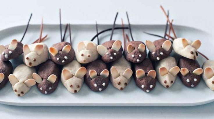 Mini Mice Cookies
