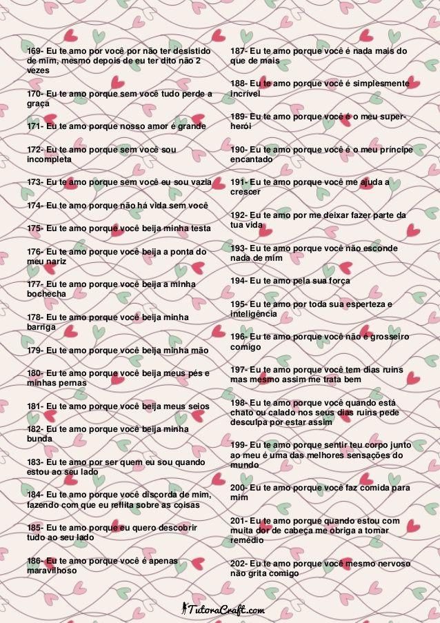 365 Motivos Para Te Amar Tutoracraft Surpresa Para Amiga