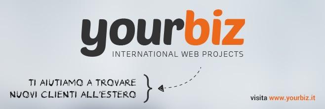 Ti aiutiamo a trovare #nuoviclienti all'#estero.  Visita http://www.yourbiz.it/?track=SocialsTestate per scoprire come #internazionalizzare il tuo #sitoweb!