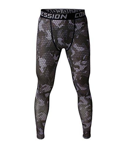 Men's Compression Tight Shirts Base Layer Fitness Gym Workout Shorts Pants S M L XL
