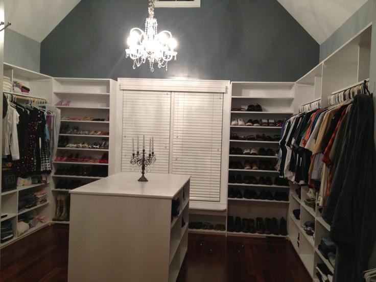 Huge Walk In Closet House Ideas Pinterest
