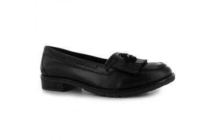 Kangol Lily Loafers Ladies, čierna koža