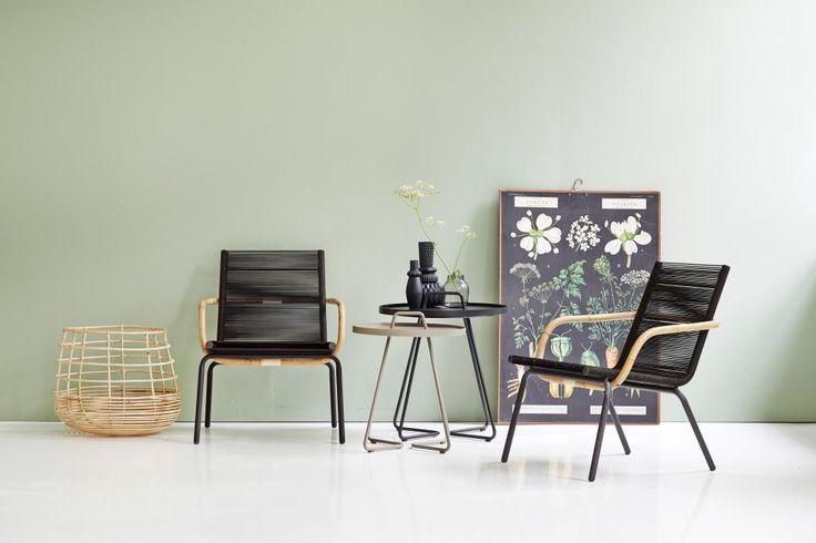 SIDD CHAIR brown nowoczesne krzesła