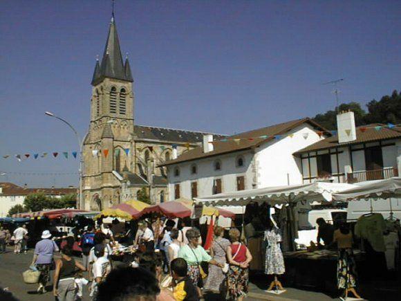 Peyrehorade, le marché