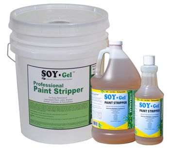 Soy Gel: Can't wait to try this  for stripping paint from woodwork.