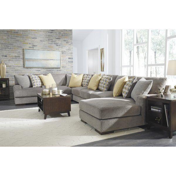 Hephzibah Reversible Sleeper Sectional | Sectional sofa ...