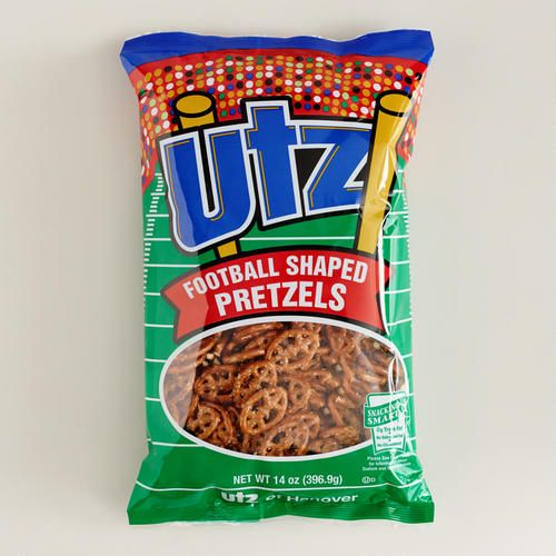 Cost Plus World Market - UTZ Football Shaped Pretzels - Game Day Essentials >> #WorldMarket