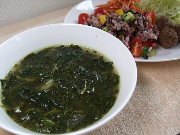 王様のスープ(モロヘイヤスープ)