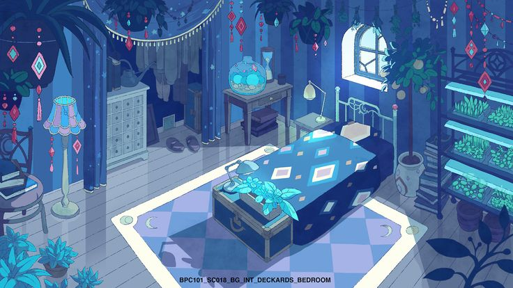 bee and puppycat bedroom - Google Search