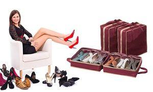 Groupon - Organizer da viaggio per scarpe a 9,89 € a [missing {{location}} value]. Prezzo Groupon: €9,89