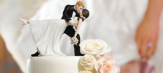 Tortenfiguren für die Hochzeitstorte