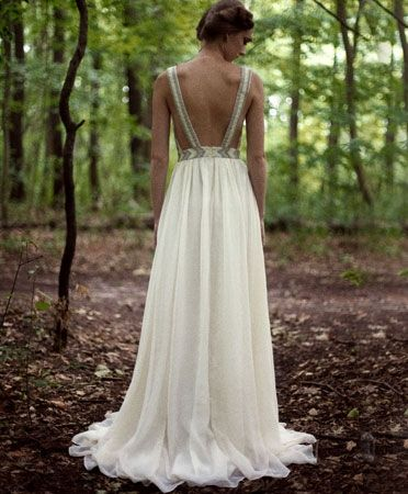 All Seeing Bridal Gown