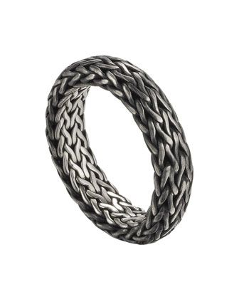 Men\'s+Classic+Chain+Band+Ring++by+John+Hardy+at+Neiman+Marcus.