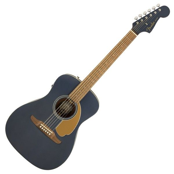 Fender Malibu Player Electro Acoustic Midnight Satin At Gear4music Electro Acoustic Guitar Guitar Acoustic Guitar