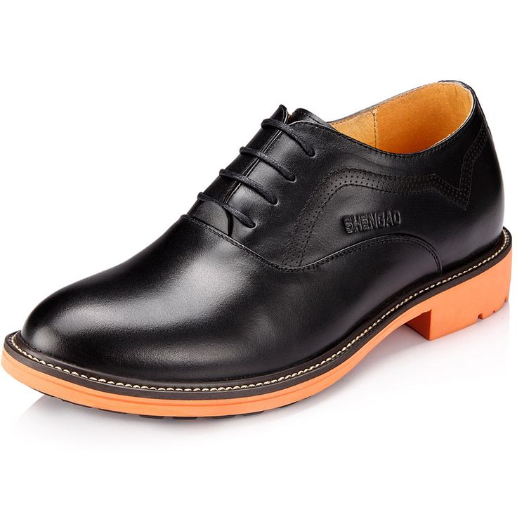Black  | Brown  elevator shoes for men 8cm / 3.15inch with the SKU:MENSG_6636 - stylish height increasing shoe UK casual shoes that make you taller 8cm / 3.15inches elevator shoes