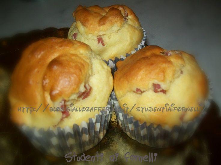 muffin prosciutto cotto e formaggio