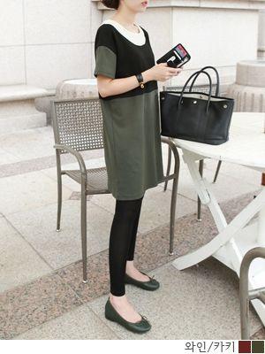korean fashion online store [COCOBLACK] Rachel color combinationOPC / Size : FREE / Price : 28.99 USD #rachel #color #combination #ops #dress #missy #missylook #fashion #style #cocoblack