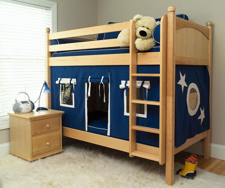 Caleb's Clubhouse Twin Size Fort Bunk Beds