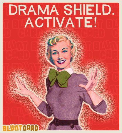 Drama shield, activate! #funnypics #funny #lol
