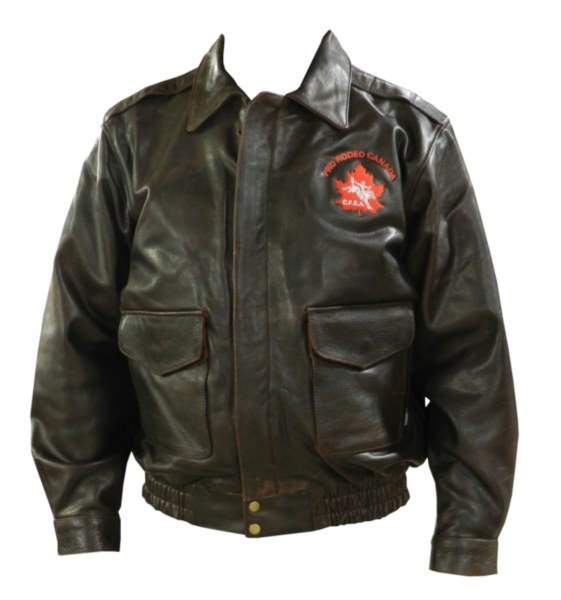 CPRA Bomber Jacket - All genuine leather construction. Four outside and two inside pockets. Has a gathered waist and quilted lining. Snap Cuffs. Zipper front with wind flap. Retro Brown in colour with an embroidered CPRA logo.