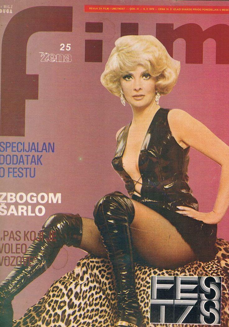 FILM #25 1978 Vintage YUGOSLAVIAN MOVIE MAGAZINE cover GINA LOLLOBRIGIDA   eBay
