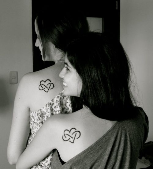 """David always wanted thaf infinity tattoo. ( a Lemniscate as a numerator and a two as a divisor has always been """"our"""" symbol. How many couples have a symbol? :D"""