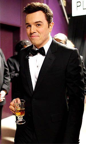 Seth MacFarlane after party