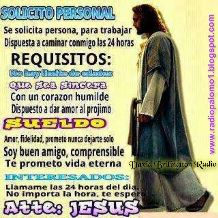 Se solicita personal para trabajar.... ~ Radio Palomo