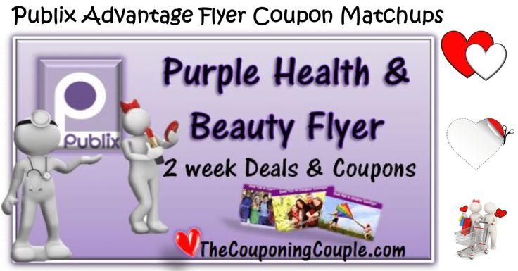 Publix Purple Health-Beauty Flyer for 12-30