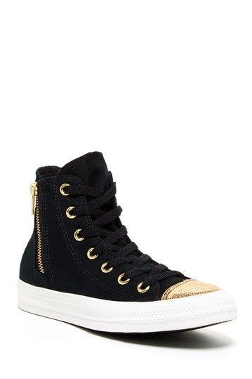 Chuck Taylor Side Zip High Top Sneaker by Converse on @HauteLook