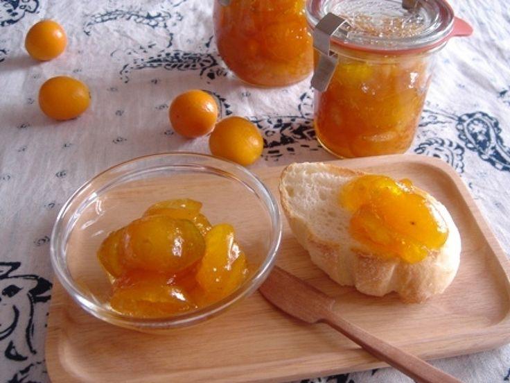 金柑ジャム。 by ゆう / パンに塗ったり、プレーンヨーグルトにかけたり。お菓子作りに利用するのもオススメです。旬の味をぎゅっとジャムにしましょう~♪ / Nadia