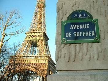 L'avenue de Suffren  (Paris 7ème/15ème).