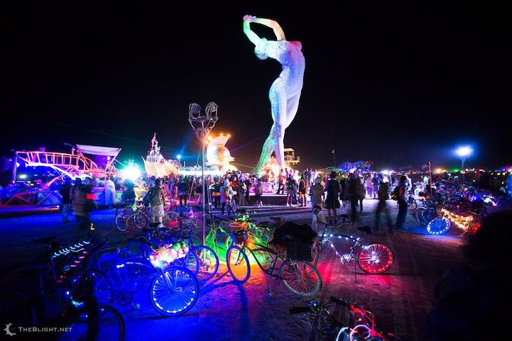 Truth is Beauty by Marco Cochrane at Burning Man 2013, photo by Neil Girling