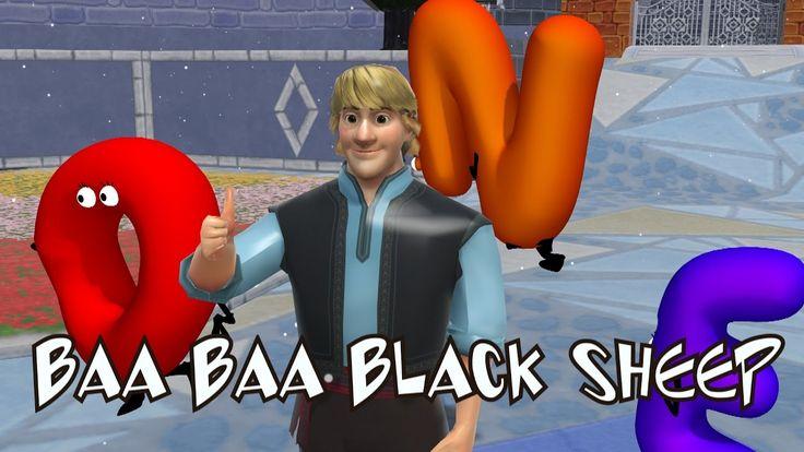 Baa Baa Black Sheep Song | Frozen Songs | Kids Songs | Nursery Rhyme for...