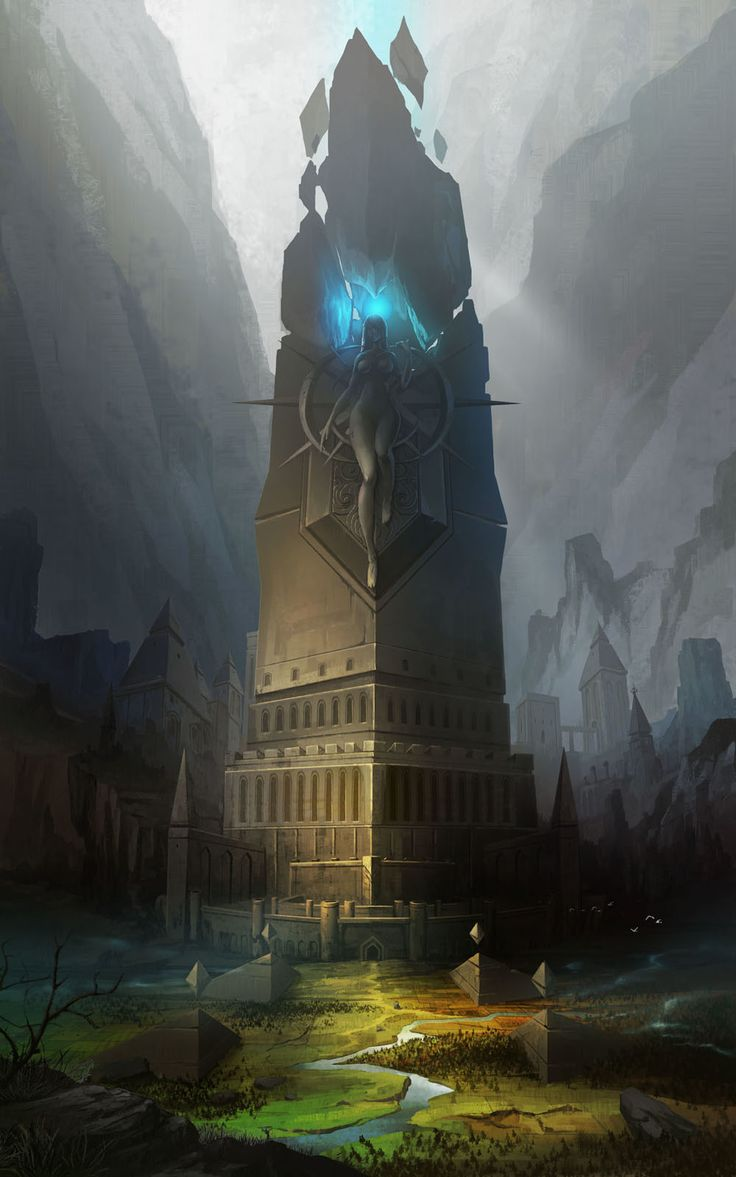 ArtStation - Tower of the goddess, minkyu park(wizboy)