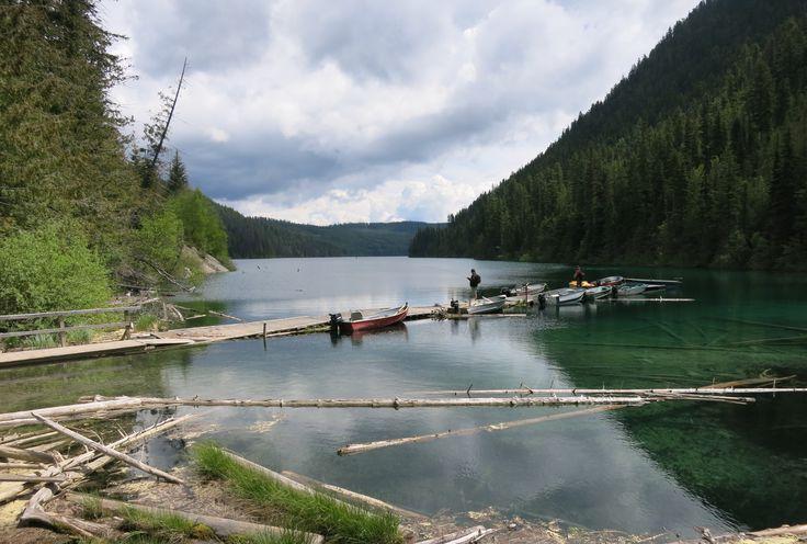 Johnson Lake, Kamloops, June 2014