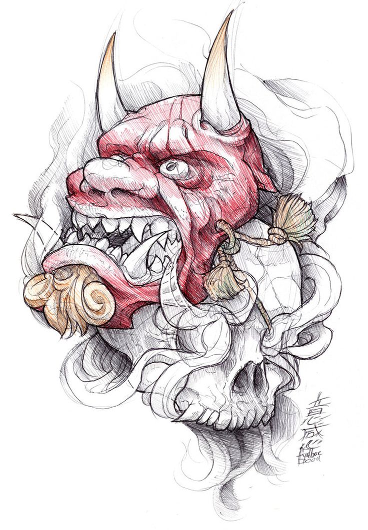 [EDIT 06-06-16] Now available on Redbubble - t-shirt, posters, and more: www.redbubble.com/people/fydba… Tattoo design sketchbook project: shigeki.zumi: ballpoints vol.01 (pending title...