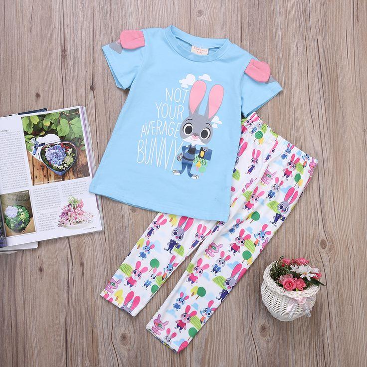 $5.21 (Buy here: https://alitems.com/g/1e8d114494ebda23ff8b16525dc3e8/?i=5&ulp=https%3A%2F%2Fwww.aliexpress.com%2Fitem%2FAU-Zootopia-Kids-Girls-2Pcs-Short-Sleeve-Outfits-Set-T-shirt-Tops-Long-Pants%2F32740512797.html ) AU Zootopia Kids Girls 2Pcs Short Sleeve Outfits Set T shirt Tops  Long Pants for just $5.21